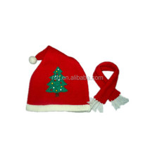 Pretty Christmas Hat and Scarf RSH 675