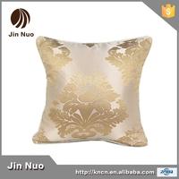 JINNUO new style cushion cover jacquard Earopean style satin sofa cushion