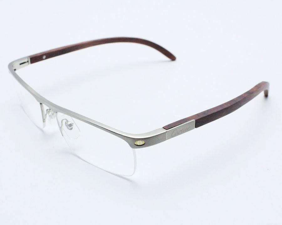 mode brillen titan holz brillen rahmen gewicht licht optische h lfte randlose brille rahmen. Black Bedroom Furniture Sets. Home Design Ideas