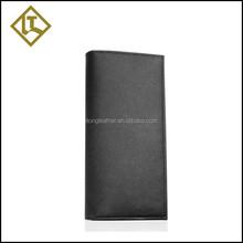 2015 Hot Sell men business bag cow leather wallet zipper long wallet