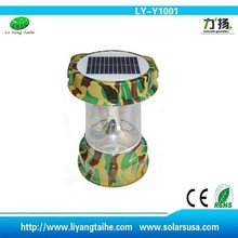 outdoor lifestyle Hot Sale Rechargeable Camping Lantern with Solar LED Light