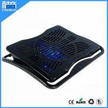 Top quality adjustable laptop cooler pad with usb fans