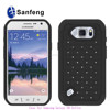 Slim fit silicone mobile phone cover for Sumgung galaxy s6 active G890 made in China