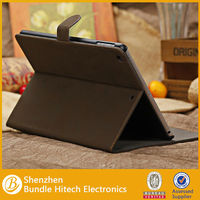 for ipad air retro leather cover. leather flip cover for ipad 5
