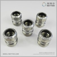 fiber optic cable protection connector /conduit connector