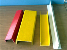 Fiberglass Reinfored Plastic Profile- Yellow FRP Channel