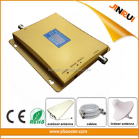 GSM 900MHz WCDMA 2100mhz 3G Dual Band Repeater Mobile 3G Signal Amplifier Booster