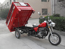 China Diesel Cargo Mortorcycle with Tipper