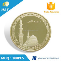 Professional custom metal minted novelty coins