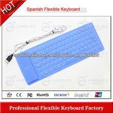silicio del teclado del ordenador