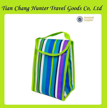 Wholesale customized logo fitness velcro insulated lunch cooler bag in lower price