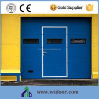 Custom size garage doors with window