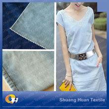 SH-J549 8OZ TC Twill denim fabric with both slub