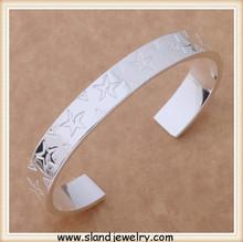 High value 925 silver bracelet, hot sale engravable sterling silver bracelets online