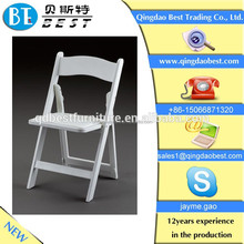 hotel furniture/wedding chairs/white wood folding chair