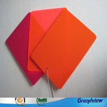 china acrylic factory direct sale 3mm PMMA sheet for engraving