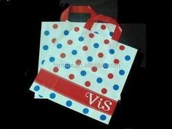 2015 Shenzhen Farmax HDPE Tote handle plastic Shopping Bag