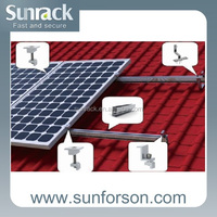 Solar Panel Aluminumt Mounting Support System
