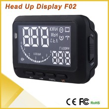Updated Version 2nd Gen Car HUD Vehicle-mounted Auto Head Up Display System OBD II OBD2 Overspeed Warning Dignostic Tools