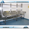 Equipment Used For Dental Floor Mounted Full 304 Stainless Steel bench Lab Furniture Bench