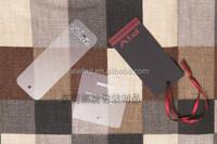 2015 Hot Hangtag/ Paper Printed PVC Tag Black Card + Punch Hole + Red Ribbon + PVC Tag +Silk Screen Print