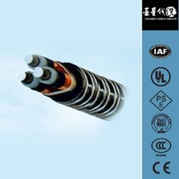 High pressure aluminum alloy power cable