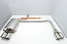 Auto muffler exhaust system for BMW F10 525/530/535