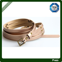Custom Double Buckle and Triple Buckle Belts for Woman