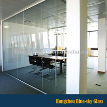 LT 5mm 6mm 8mm 10mm 12mm 15mm 19mm thick tempered glass wall partition with competitive price