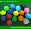 Custom Colored Practic Golf Ball Manufacturer