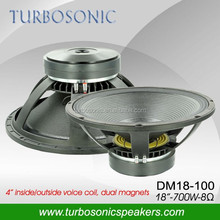 18 inch subwoofer with dual magnets