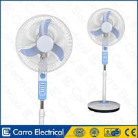 Good sale 12v 16inch cooling battery pedestal fan bajaj pedestal fan price in india