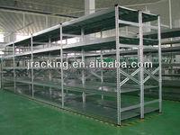 Steel rack manufaturer jracking used new style powder coated slotted angle shelf