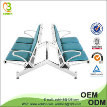 Stainless steel With Cushion airport lounge chairs