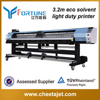 Indoor inkjet printer 126inches YF-3200D light duty eco solvent printing machine with DX5/DX7