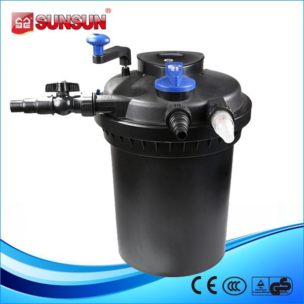Sunsun activated carbon filter bio pond press filter for Charcoal pond filter