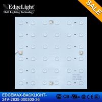 Edgelight LED Backlit modules light letters advertising product