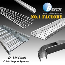 Direct Sales Factory Specializing in Cable Tray Ladder Trunking Wire Mesh Wireway Channel Support Systems (UL,cUL,CE,IEC,ISO)
