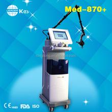 2015 hot selling RF tube CO2 fractional laser machine model MED-870+co2 laser+rf machine