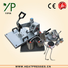 2015 ce approved 8 in 1 sublimation printing press