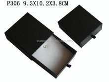 Wholesale Leatherette Paper Packaging Drawer Jewelry Pendant Gift Box Made in China P306
