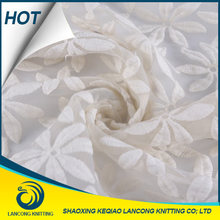 2015 Beautiful Soft Silk 3D Flower Lace Embroidered Fabric