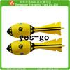 new design eva rocket ball/pu rocket kid toy with logo