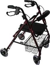 NH16-003A disability Walking aids/walker rollator with seat, wheels and basket for for elder