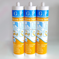 GP silicone sealant clear