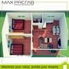 Prefabricated modern prefab villa design layout