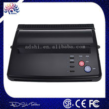 High quality worldwide power cord black A4 thermal Tattoo copier stencil copy Transfer Machine