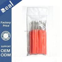 100pcs Plastic Handle Hair Pulling Needle / Micro Rings / Loop Hair Extension Tools