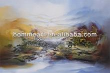 wall art oil painting peru for home decoration