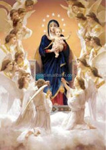 Virgin Mary and baby Jesus 3d lenticular pictures